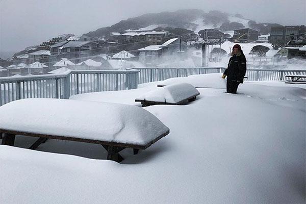 Hotham Powder snow
