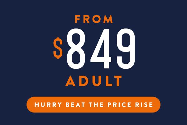 Epic Australia Pass Adult Price Sept