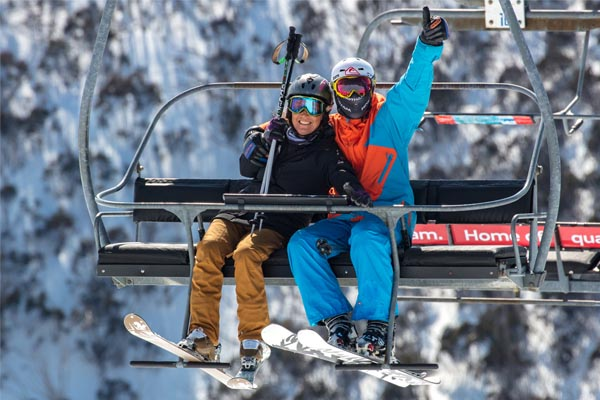 Chairlift Couple