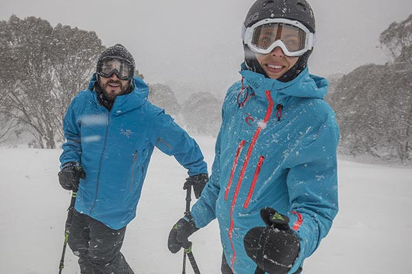 All smiles at Hotham