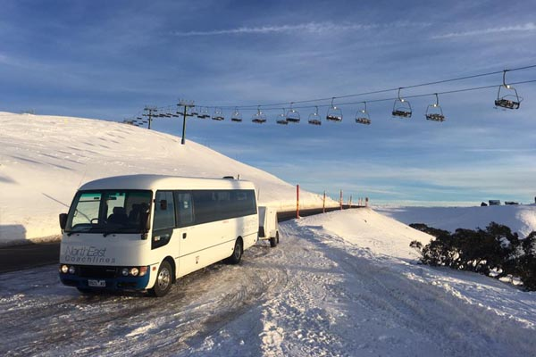 Hotham bus chairlift
