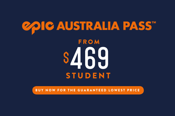 Epic Australia Pass Student Price