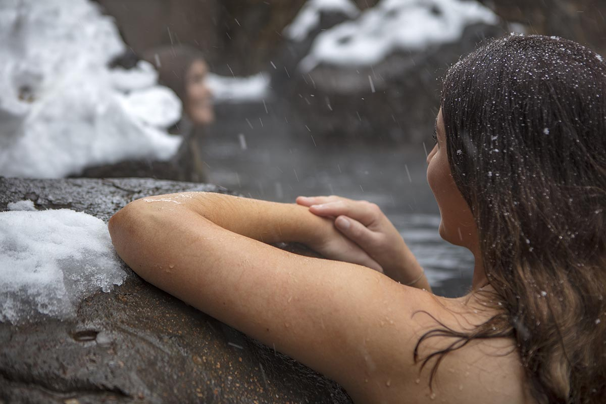 The Onsen outdoor spa