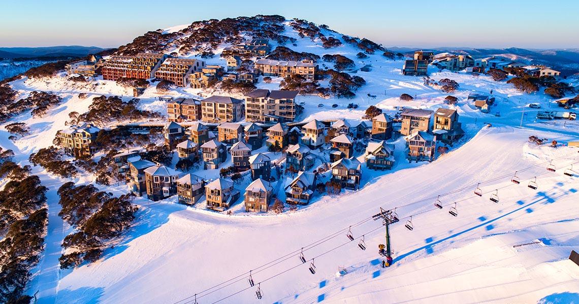 Village Map Hotham Alpine Resort